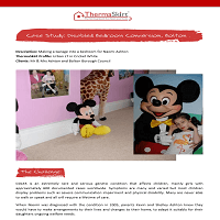 ThermaSkirt Case Study - Naomi Ashton's Disabled Bedroom Conversion, Bolton
