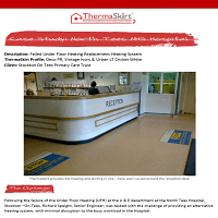 ThermaSkirt Case Study - NHS, Stockton on Tees