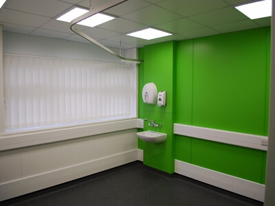 NHS Queensway, Treatment Centre Refurbishment
