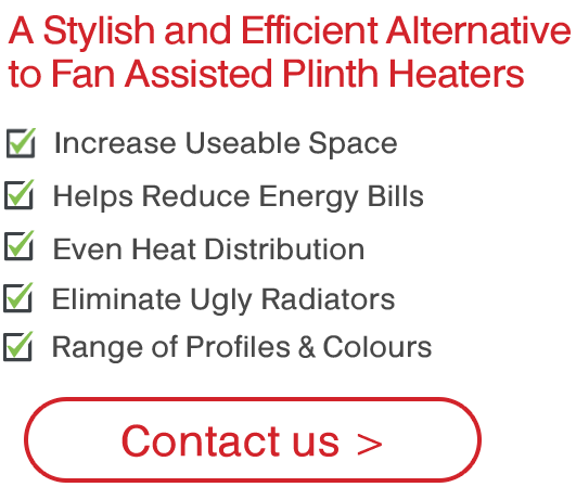 ThermaSkirt Electric Skirting Heating