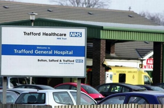 Clean sweep: 1,000 days with no MRSA makes Trafford General hospital best in England