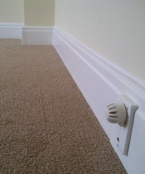 Radiant Skirting – Perfect for Heat Pumps