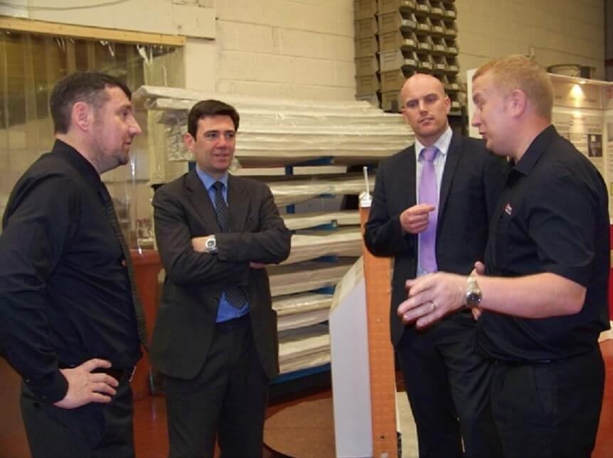 Shadow Secretary of State & the NHS Visits Discrete Heat