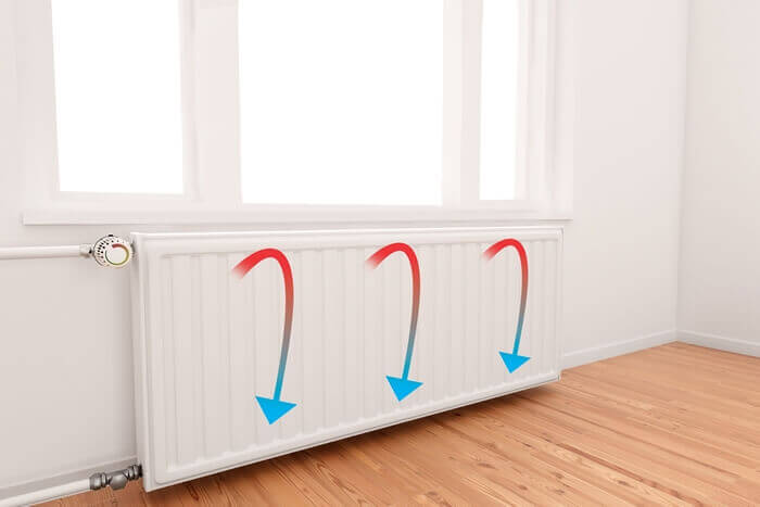 Radiators 'Micro Climate' at low temperature & do not distribute heat
